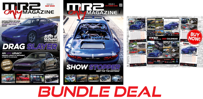 MR2 Only Magazine/Calendar Bundle Deal (Issue 1 + Issue 2 + 2021 Calendar)