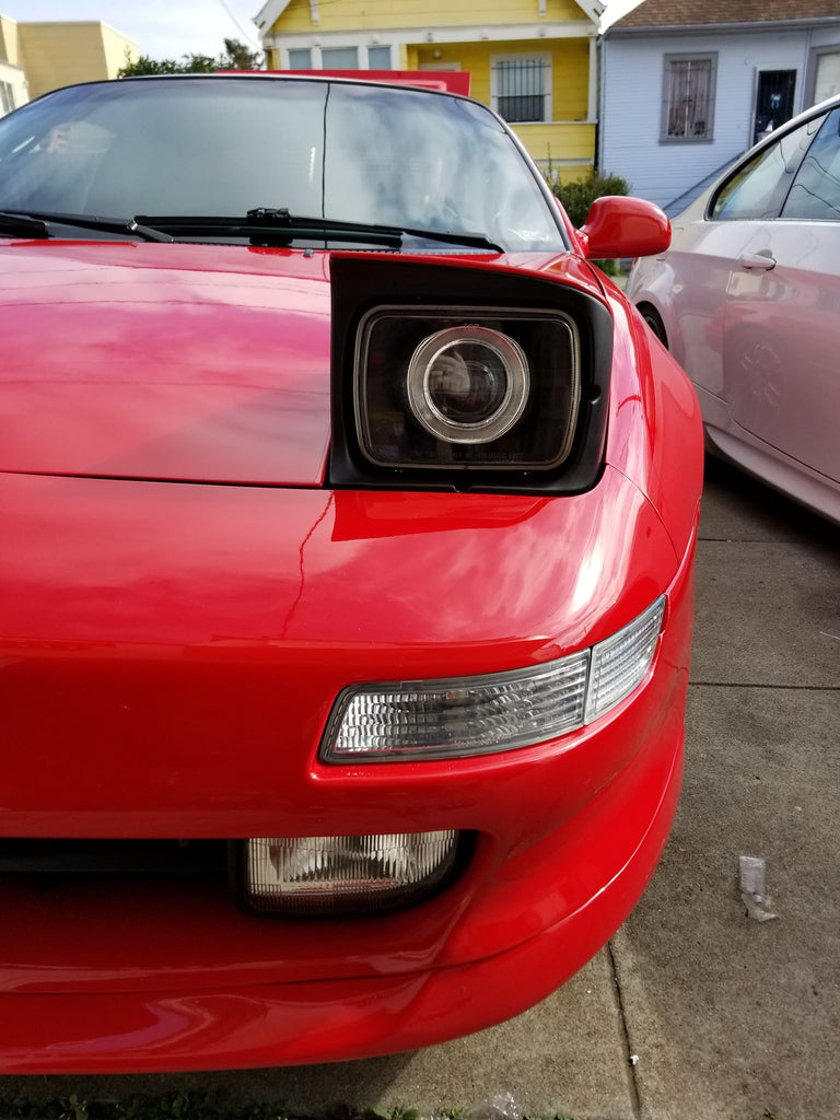 Retrofitted Projector Headlights