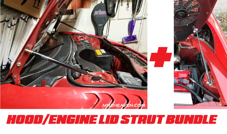 Hood & Engine Lid Strut Bundle Deal