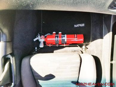 MR2Heaven Passenger Seat Fire Extinguisher Mount