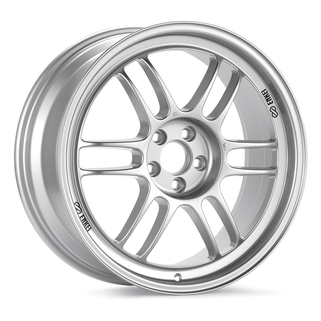 ENKEI RPF1 17X8 & 17X9 STAGGERED WHEELS - Silver