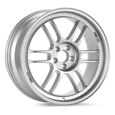 ENKEI RPF1 17X7 & 17X8 STAGGERED WHEELS - Silver