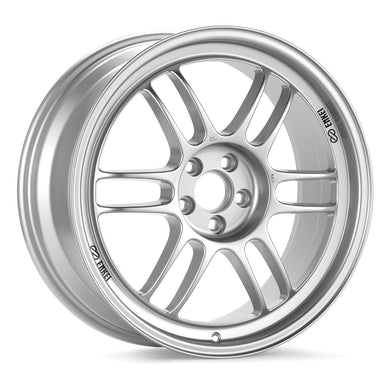 ENKEI RPF1 17X9 & 17X9.5 STAGGERED WHEELS - Silver