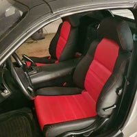 MR2Heaven OEM Plus Seat Covers (Black, TAN, Black W/ Red Stitching, Black/Red Hybrid)