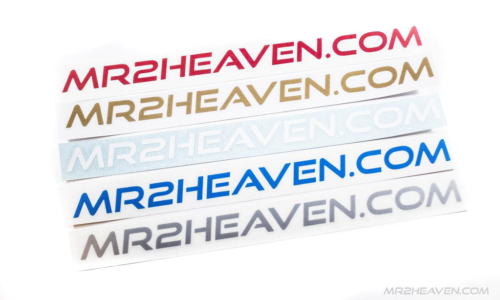MR2Heaven Decal / Stickers