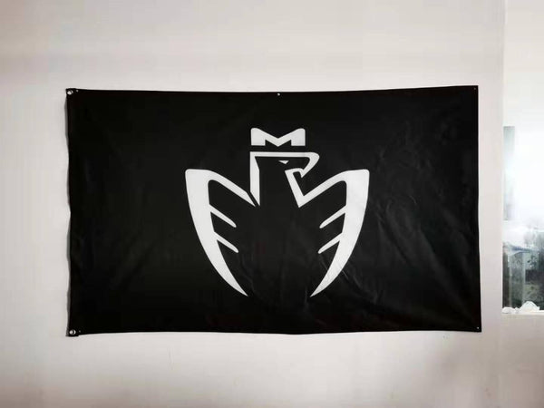 "MR2 ""Midship Runabout"" Logo 3'x5' Automotive Flag"