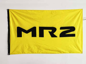 MR2 Logo 3'x5' Automotive Flag