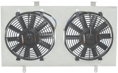 Mishimito Radiator Fan Shroud with Dual Fans MMFS-MR2-90 - MR2 Heaven