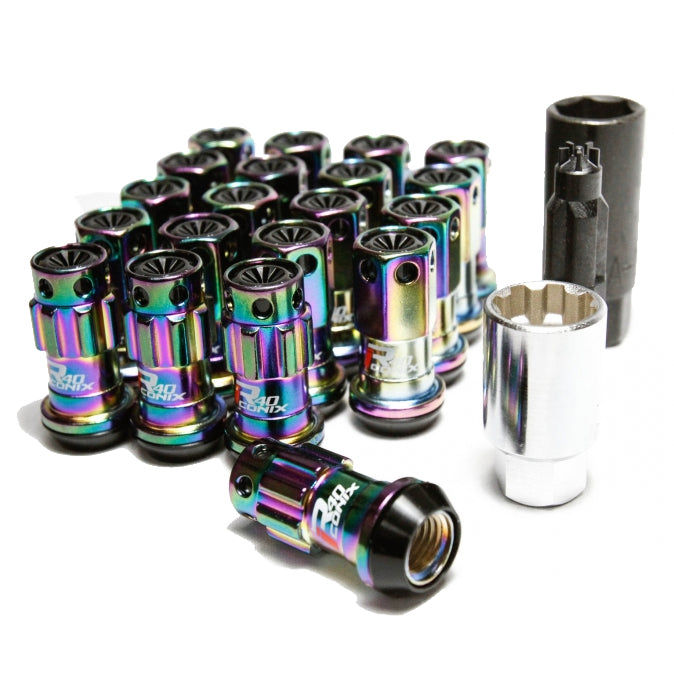 Project Kics R40 Iconix Neo Chrome Lug Nuts