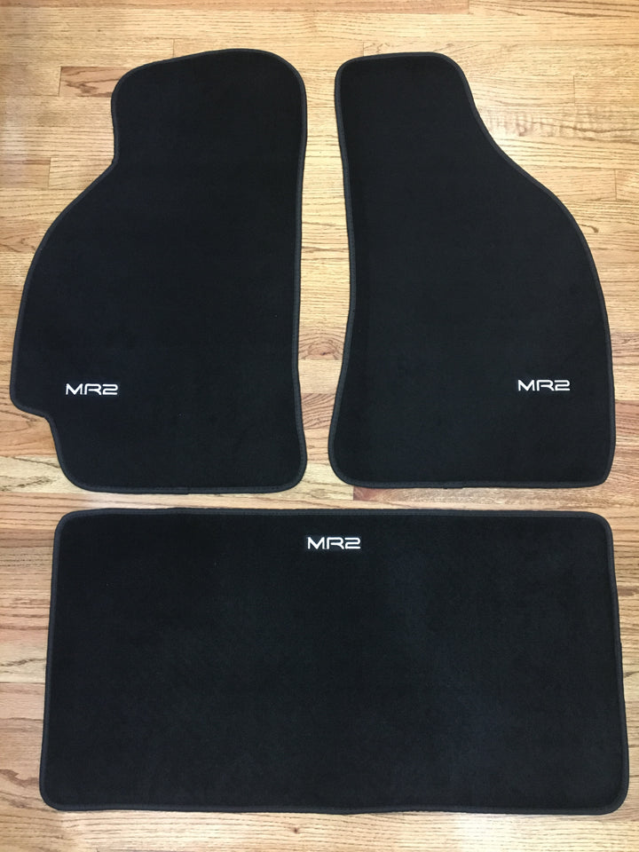 MR2Heaven Reproduction Floor Mats with Matching Trunk Mat