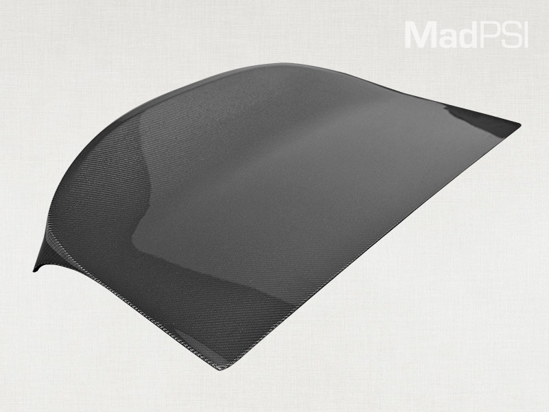 Mad PSI Carbon Fiber Ducktail Trunk Lid - OUT OF STOCK