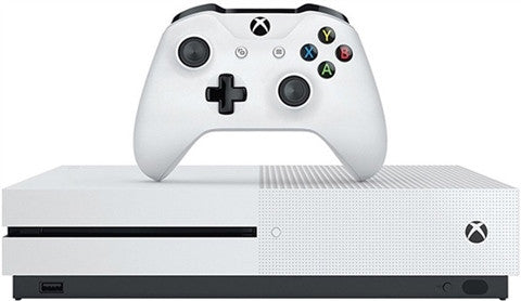 Xbox One S 500GB White - Gaming Console - used games