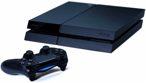 Playstation 4 500 GB Black - Gaming Console - used games