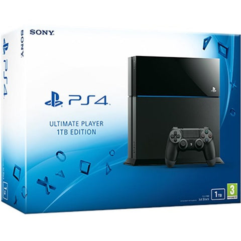 PS4  Sony 1 TB Used 1 year warranty with all Cables Boxed -  - used games
