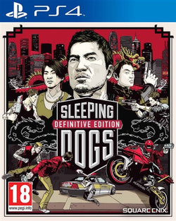 PS4 Sleeping Dogs: Definitive Edition - PS4 Games - used games
