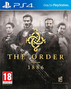 PS4 The order 1886 - PS4 Games - used games