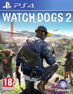 PS4 Watch dogs 2 - PS4 Games - used games