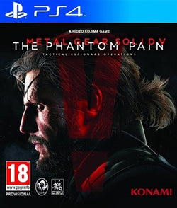 PS4 Metal Gear solid V The Phantom pain - PS4 Games - used games
