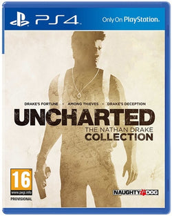 PS4 uncharted the Nathan Drake collection - PS4 Games - used games