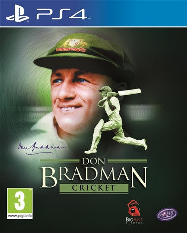 PS4 Don Bradman 14 - PS4 Games - used games