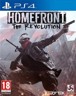 PS4 Homefront The Revolution - PS4 Games - used games