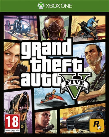 Xbox One Grand Theft Auto V GTA 5 - Xbox One - used games