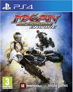 PS4 MX Vs ATV Supercross Encore - PS4 Games - used games