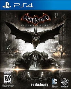 PS4 Batman Arkham Knight - PS4 Games - used games