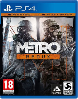 PS4 Metro Redux - PS4 Games - used games