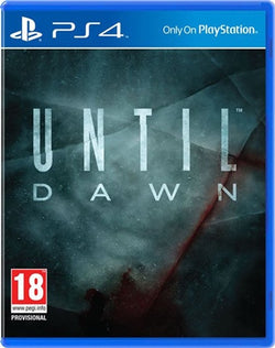 PS4 Until Dawn - PS4 Games - used games