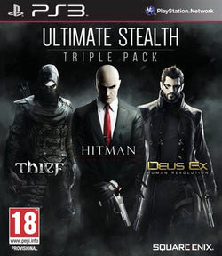 Ultimate Stealth: Triple Pack - PS3 Games - used games