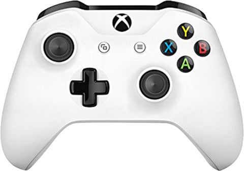 Xbox One Official 2016 White Wireless Controller - Gaming Accessories - used games