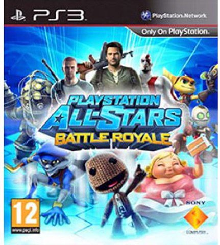PlayStation All-Stars Battle Royale -  - used games