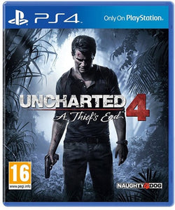 PS4 Uncharted 4 A thief's end Pre Owned - PS4 Games - used games