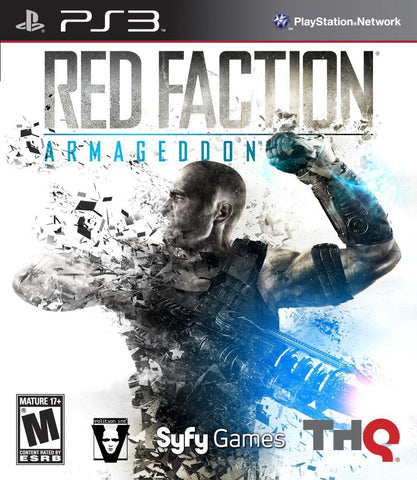 RED FACTION ARMAGEDDON - ps3 games - used games
