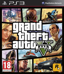 PS3 Grand Theft Auto V GTA 5 - PS3 Games - used games