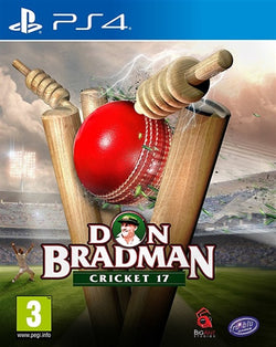 PS4 Don Bradman Cricket 17 - PS4 Games - used games