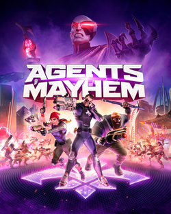 PS4 Agents of Mayhem - PS4 Games - used games