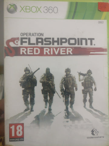 Xbox 360 Operation Flashpoint Red river PAL Brand New