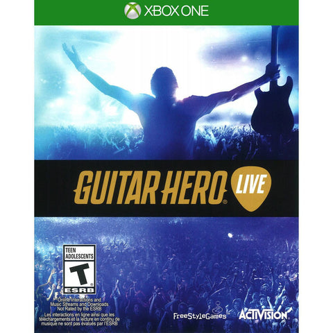 Guitar Hero xbox one - Xbox One - used games