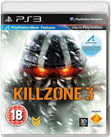 killzone 3 - PS3 Games - used games