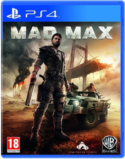 mad max - PS4 Games - used games
