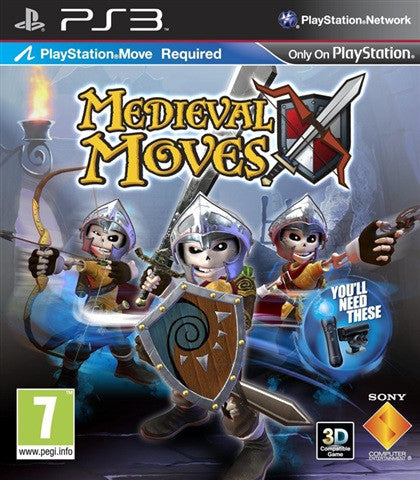 medieval move - ps3 games - used games