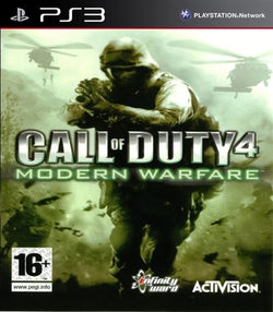 ps3 Call of duty 4 mordern warfare - PS3 Games - used games
