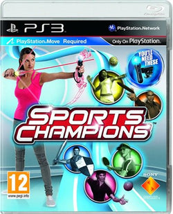 ps3 sports champions - ps3 games - used games