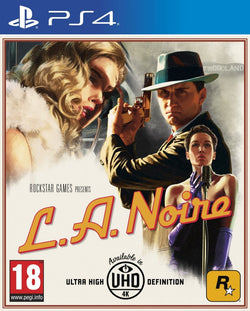 PS4 LA NOIRE New Brand New Sealed