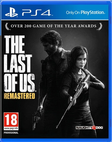 PS4 The last of us Remastered - PS4 Games - used games