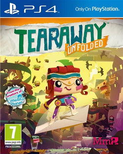 tearaway - PS4 Games - used games