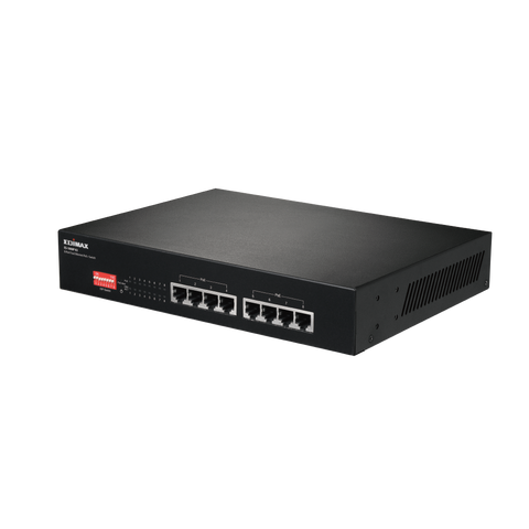 8-Port PoE+ Switch 15.4W per Port/Max 145W Fan-less