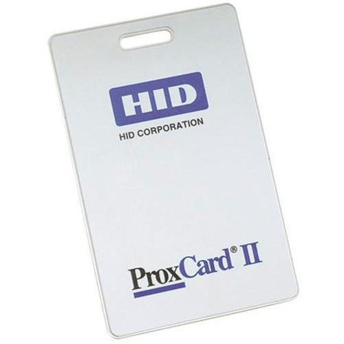 HID 1326 Clamshell Prox 125KHz Card - Pre-Programmed